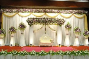 Stage Decoration. Image Courtesy: You me and trends