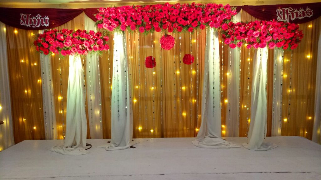 Budget Wedding Stage decoration Kochi Tripunithura