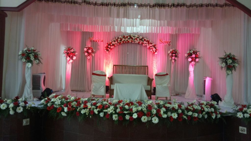 Budget Wedding Stage decoration Kochi