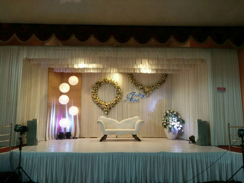 Wedding Stage Decoration Thejus Auditorium Ernakulam, Kochi