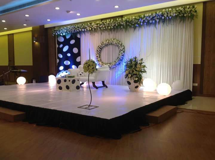 Wedding Stage Decoration banquet hall in Ernakulam