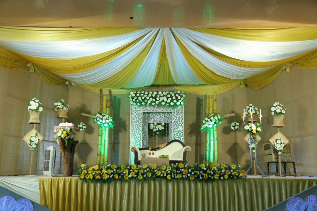 Wedding Stage Decoration Sapphire Banquet Hall Ernakulam