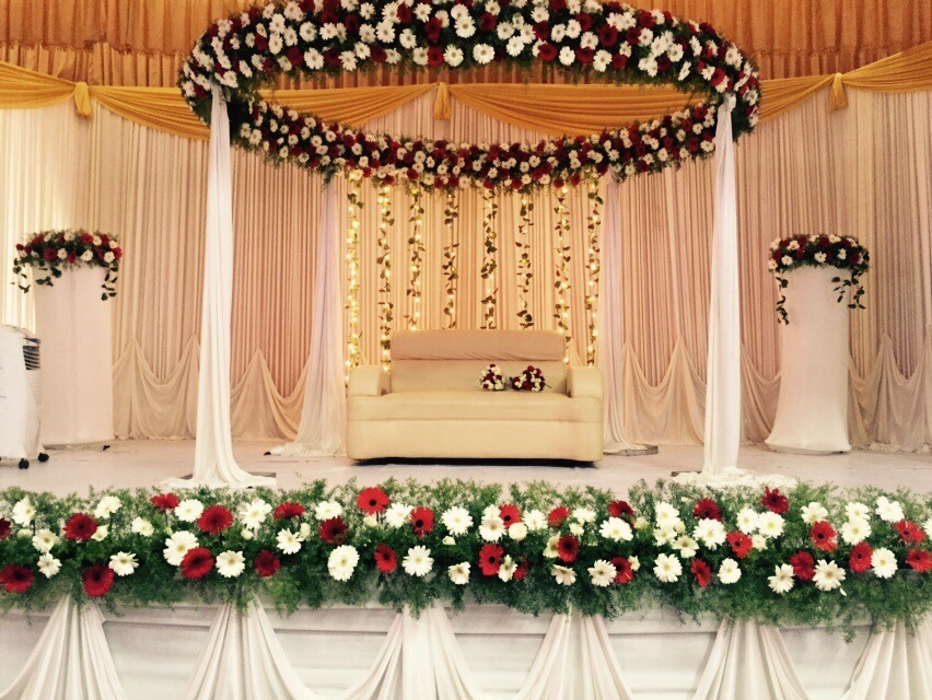 Wedding Stage Decoration Ernakulam