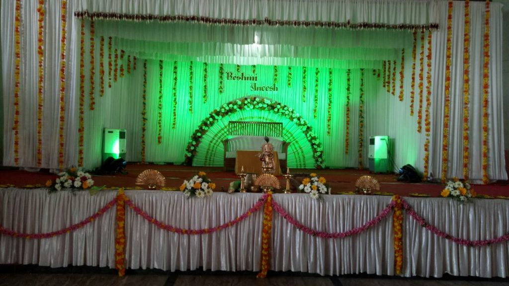 Christian Wedding Stage Decoration Ernakulam - Kerala Wedding Planners