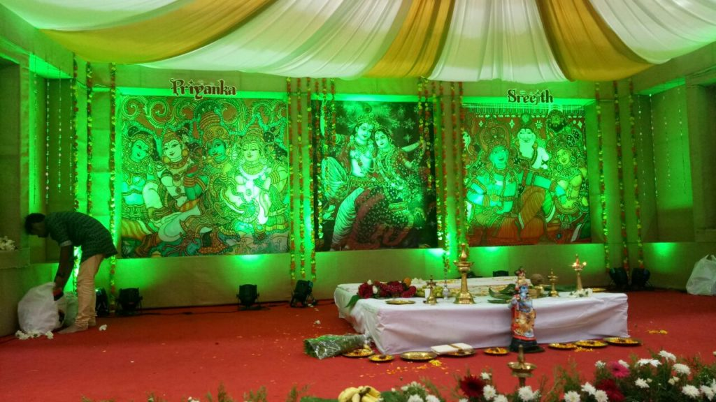 Wedding Hall Decoration Kochi