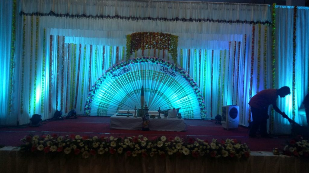 Wedding Hall Decoration Ernakulam