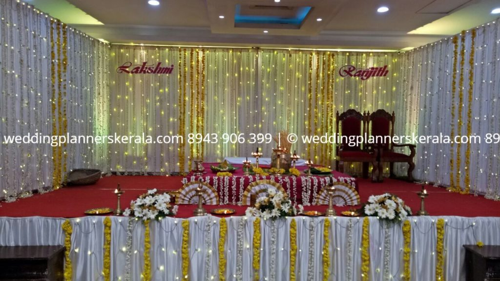 Simple Hindu Wedding stage