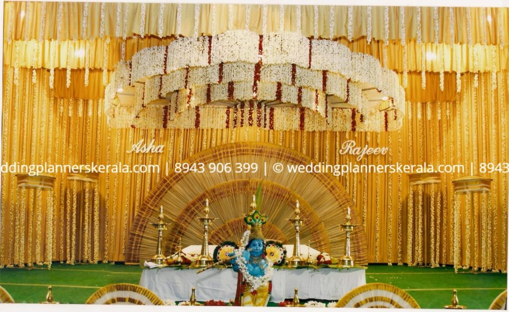 Jasmine Wedding stage Decoration