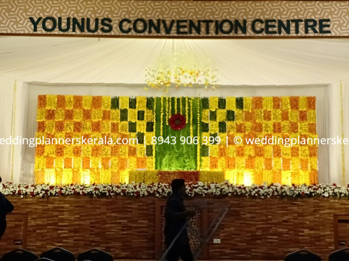 Hindu Wedding stage Decoration Kerala