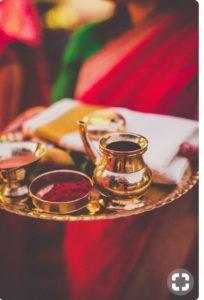 Kindi sandal Paste Hindu Nair Wedding Rituals