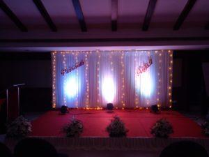 Kerala Wedding Stage Decoration Under 10000 Ph: 8943 906 399