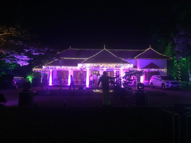 Wedding House Stage Decoration Kerala Wedding Planners