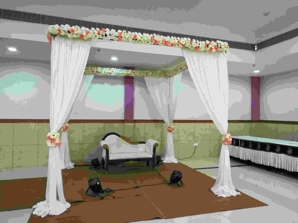 Bridal Canopy Decoration for Muslim Wedding
