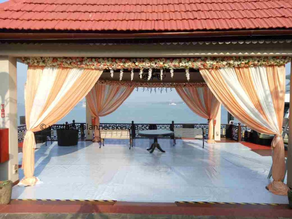 Mandap Decoration for North Indian Wedding Kerala