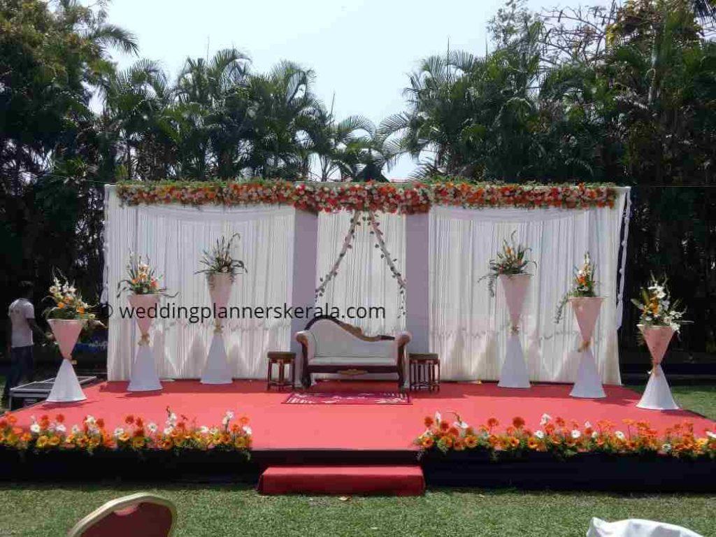 lawn Wedding Decoration Kerala