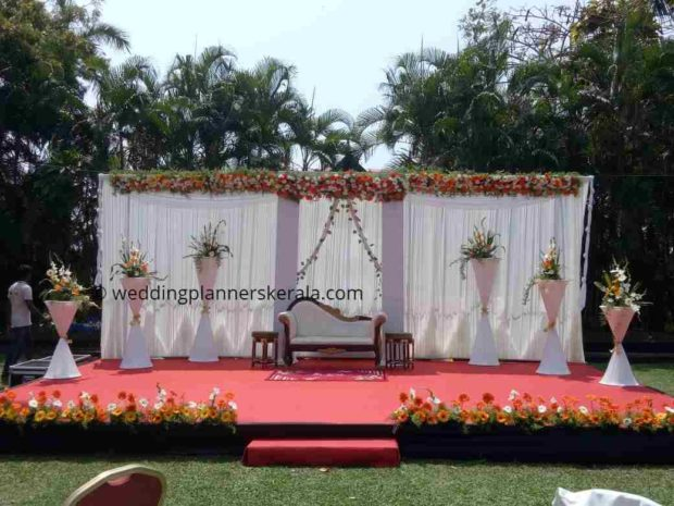 lawn Wedding Decoration Kerala