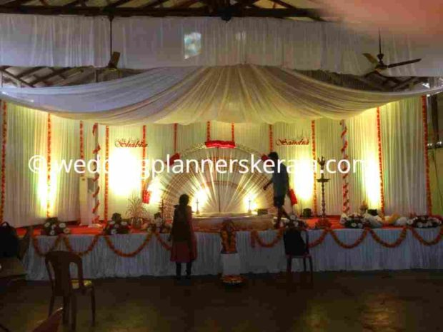 Traditional Kerala Hindu Wedding Decoration